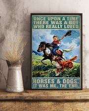 horse poster 11x17 Poster lifestyle-poster-3