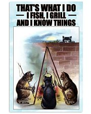 Fishing and Know Things Vertical Poster tile