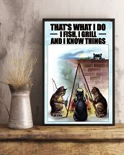 Fishing and Know Things 24x36 Poster lifestyle-poster-3