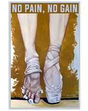 Ballet No Pain No Gain 11x17 Poster front
