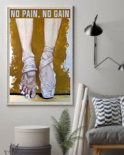 Ballet No Pain No Gain 11x17 Poster lifestyle-poster-1