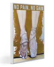 Ballet No Pain No Gain Gallery Wrapped Canvas Prints tile