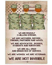 veteran poster 11x17 Poster front