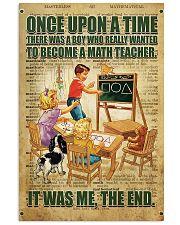 Teacher math  11x17 Poster front