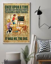 Teacher math  11x17 Poster lifestyle-poster-1