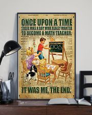 Teacher math  11x17 Poster lifestyle-poster-2