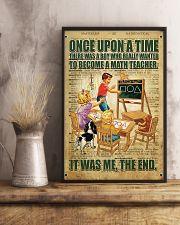Teacher math  11x17 Poster lifestyle-poster-3