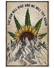 The sun will rise poster 11x17 Poster front