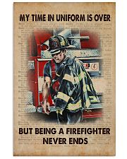 firefighter  poster 24x36 Poster front