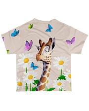 Giraffe all over All-over T-Shirt back