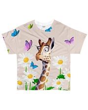 Giraffe all over All-over T-Shirt front