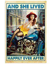 Biker poster 11x17 Poster front