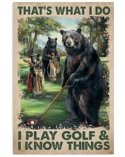 Play Golf 11x17 Poster front