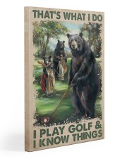Play Golf Gallery Wrapped Canvas Prints tile