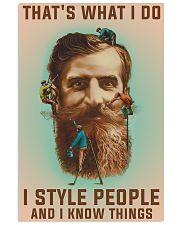 Style people and Know Things 11x17 Poster front