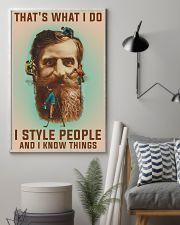 Style people and Know Things 11x17 Poster lifestyle-poster-1