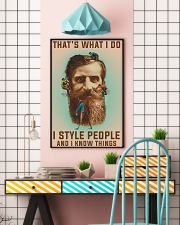 Style people and Know Things 11x17 Poster lifestyle-poster-6