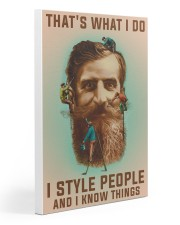 Style people and Know Things Gallery Wrapped Canvas Prints tile