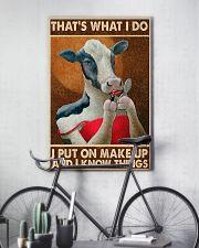 Put on makeup 24x36 Poster lifestyle-poster-7