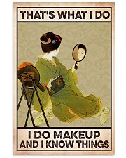 Makeup 24x36 Poster front