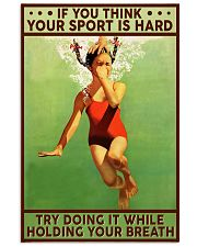 Swimming Hold Your Breath 11x17 Poster front