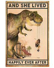 Dinosaur poster 11x17 Poster front