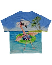 Flamingo all over All-over T-Shirt back