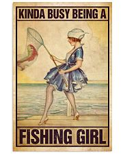 Fishing poster 11x17 Poster front
