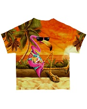 Flamingo summer all over  All-over T-Shirt back