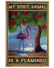 flamingo poster 11x17 Poster front