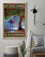 flamingo poster 11x17 Poster lifestyle-poster-1