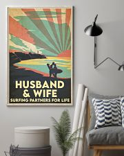 Surfing Partners For Life 24x36 Poster lifestyle-poster-1