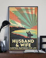 Surfing Partners For Life 24x36 Poster lifestyle-poster-2