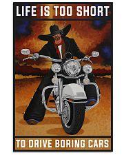 Biker Life Is Too Short 24x36 Poster front