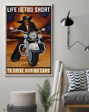 Biker Life Is Too Short 24x36 Poster lifestyle-poster-1