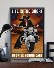 Biker Life Is Too Short 24x36 Poster lifestyle-poster-2