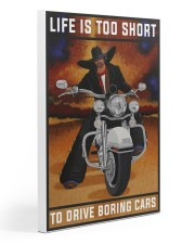 Biker Life Is Too Short Gallery Wrapped Canvas Prints tile