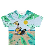 Flamingo summer all over All-over T-Shirt front