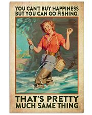 Fishing Buying Happiness 24x36 Poster front