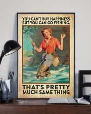 Fishing Buying Happiness 24x36 Poster lifestyle-poster-2
