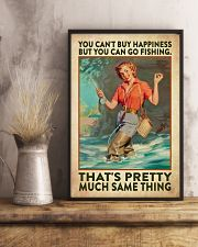 Fishing Buying Happiness 24x36 Poster lifestyle-poster-3