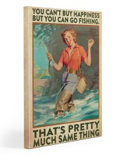 Fishing Buying Happiness Gallery Wrapped Canvas Prints tile