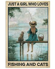 Love Fishing and Cats 11x17 Poster front