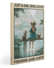 Love Fishing and Cats Gallery Wrapped Canvas Prints tile
