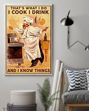 Chef Cook Drink and Know Things 11x17 Poster lifestyle-poster-1
