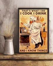 Chef Cook Drink and Know Things 11x17 Poster lifestyle-poster-3