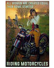 poster biker 11x17 Poster front
