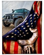"blanket 10 jeep Large Fleece Blanket - 60"" x 80"" front"