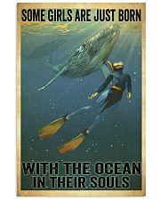 scuba diving  11x17 Poster front
