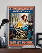 Biker poster 11x17 Poster lifestyle-poster-2